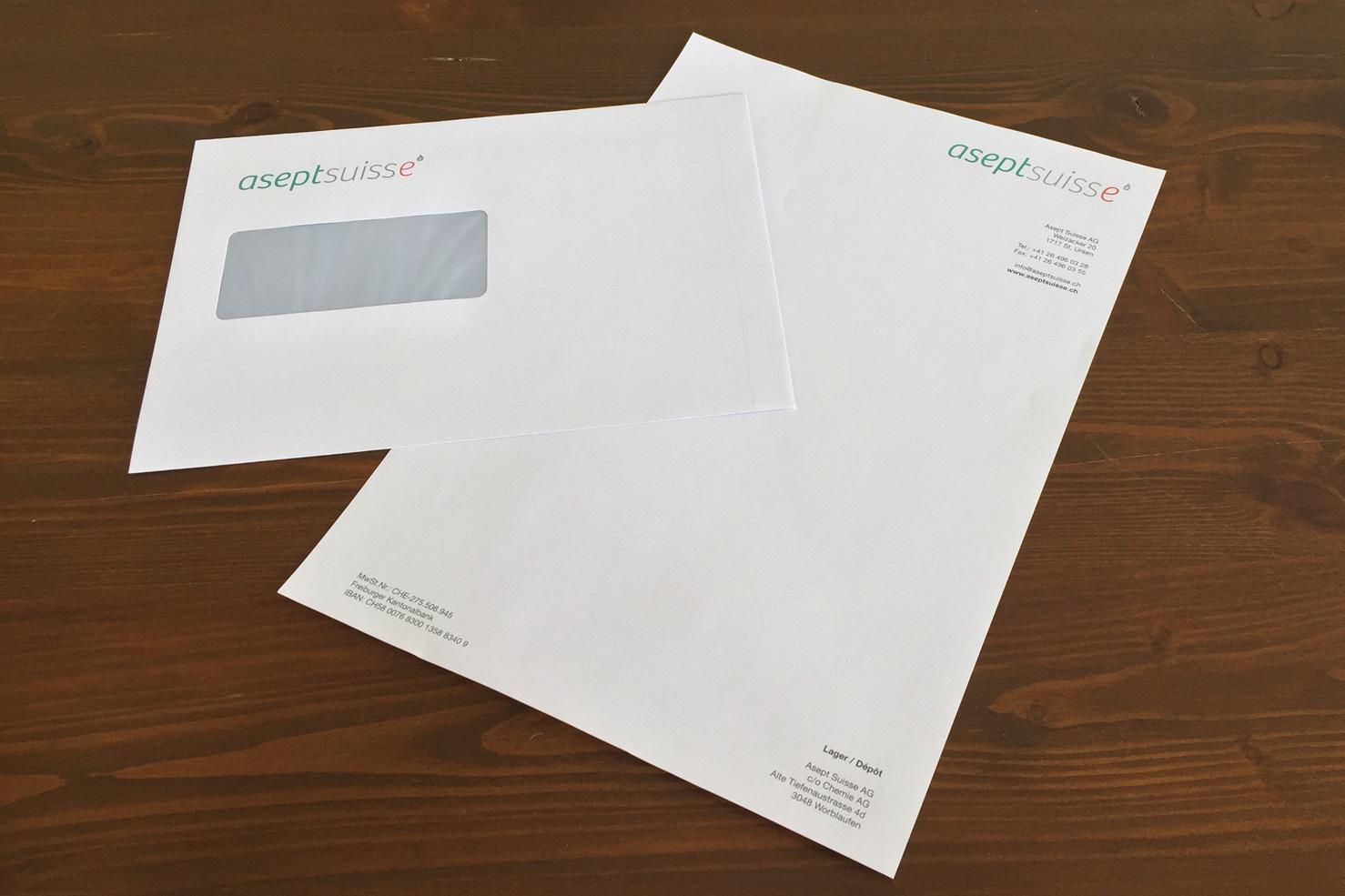 Bild 2 vom Asept Suisse AG Grafikdesign