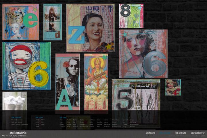 Bild 4 vom Atelierfabrik Webseite