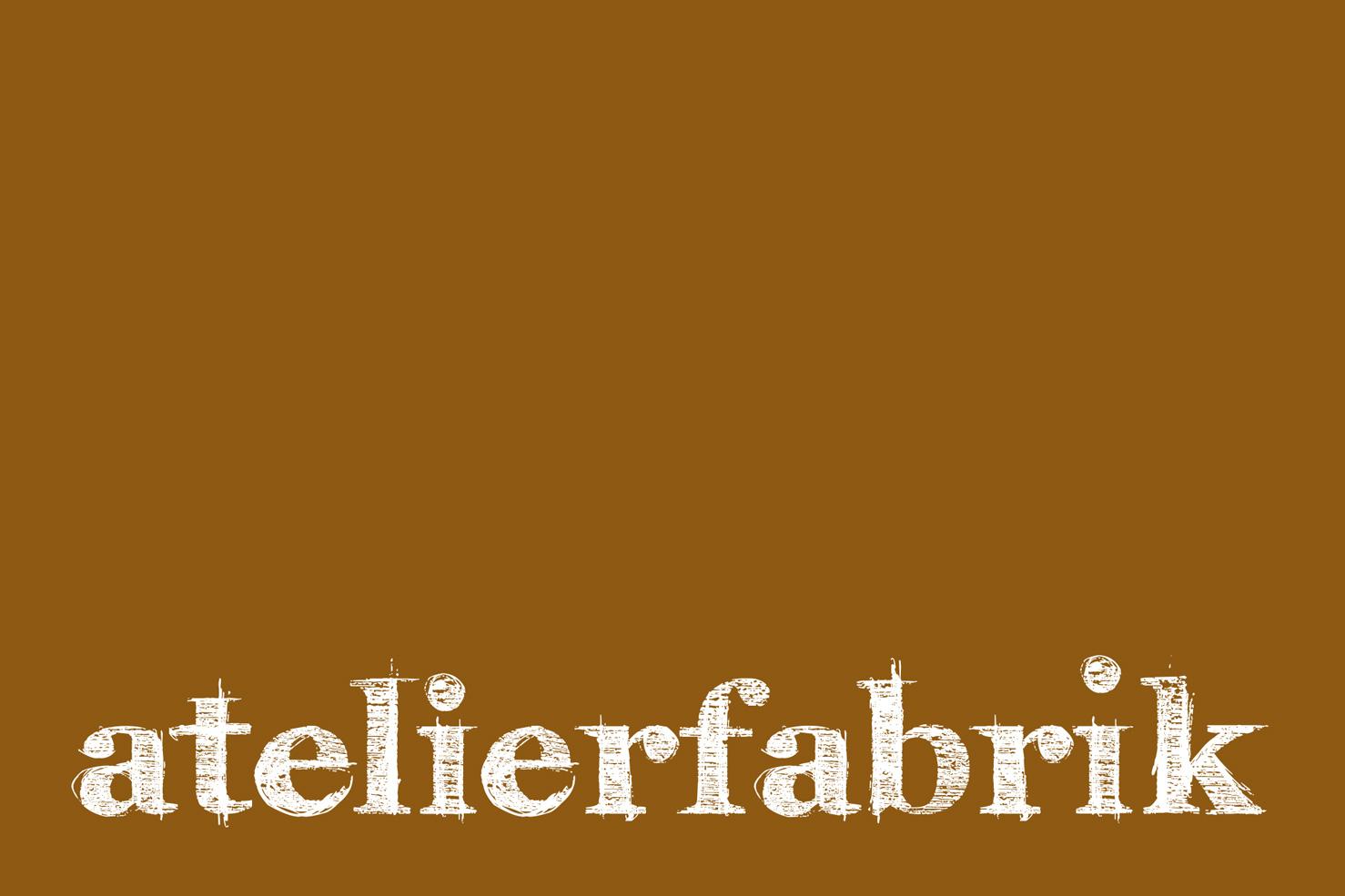 Bild 1 vom Atelierfabrik Logoentwicklung