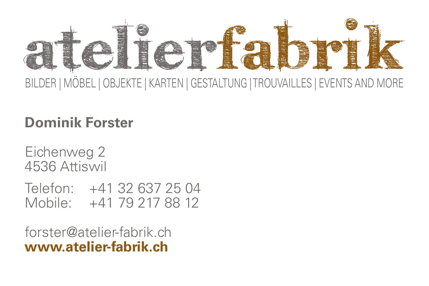 Bild 2 vom Atelierfabrik Logoentwicklung