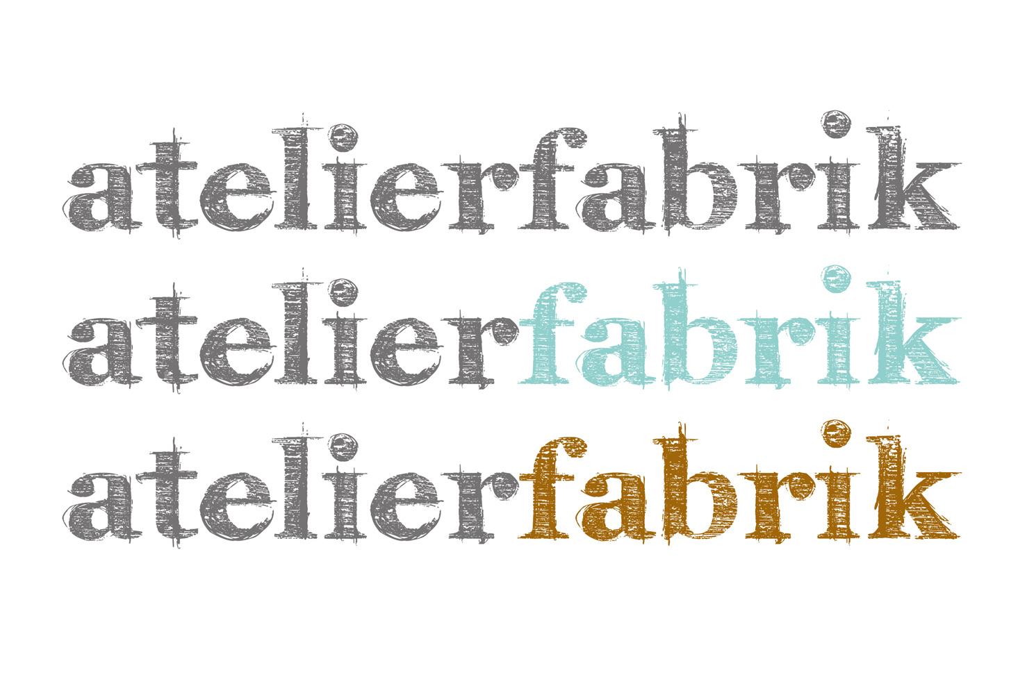 Bild 3 vom Atelierfabrik Logoentwicklung