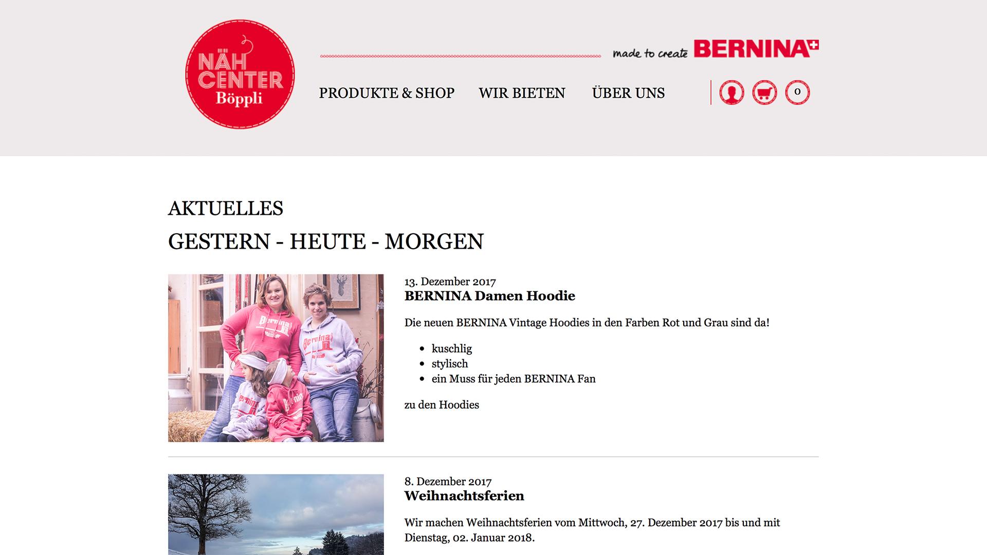 Bild 1 vom Böppli Nähcenter Online-Shop