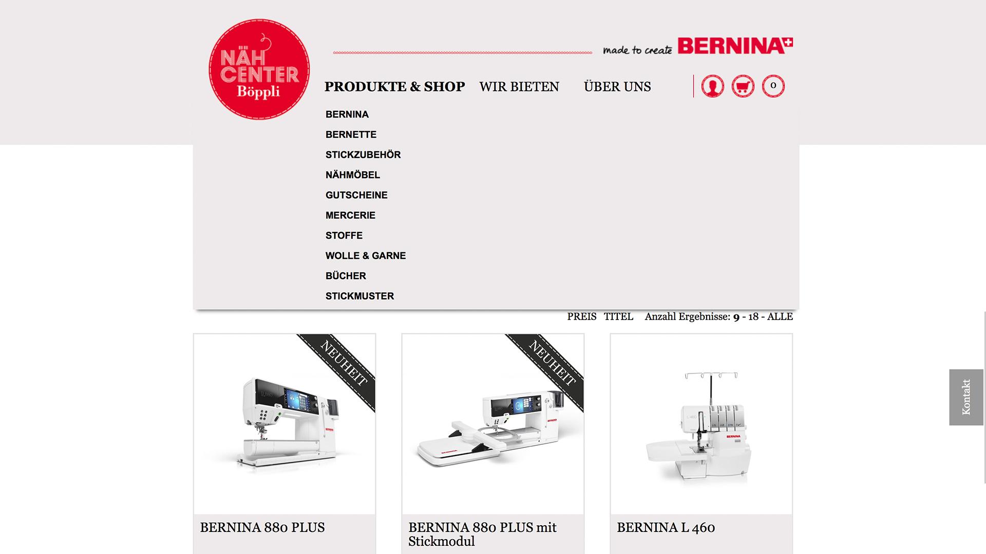 Bild 2 vom Böppli Nähcenter Online-Shop