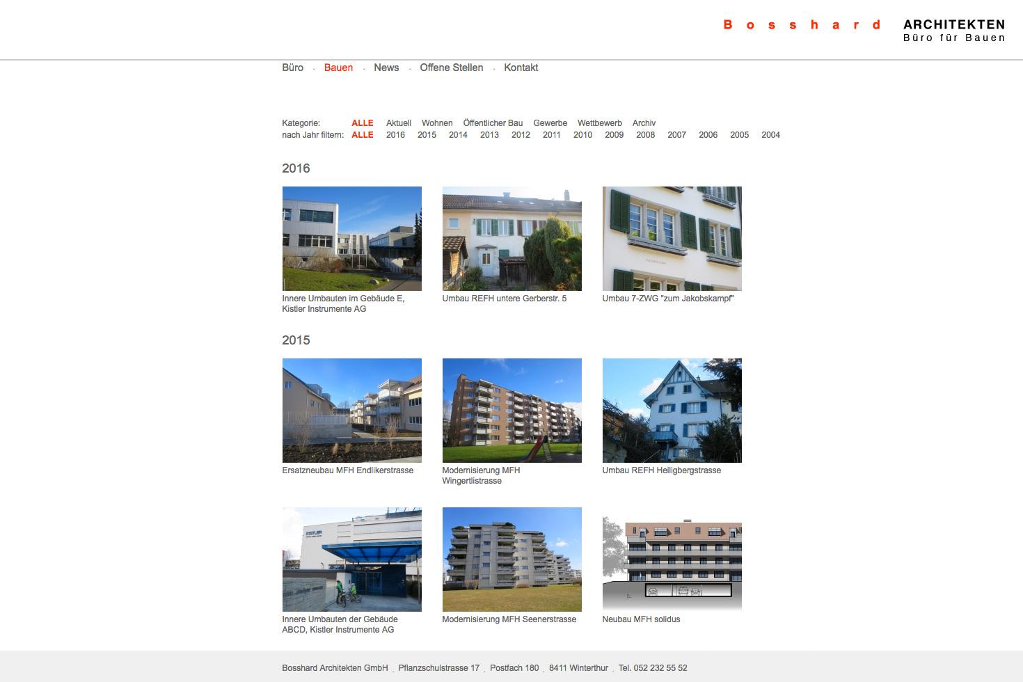 Bild 3 vom Büro für Bauen Webseite
