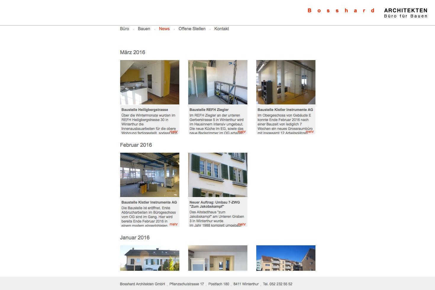 Bild 4 vom Büro für Bauen Webseite