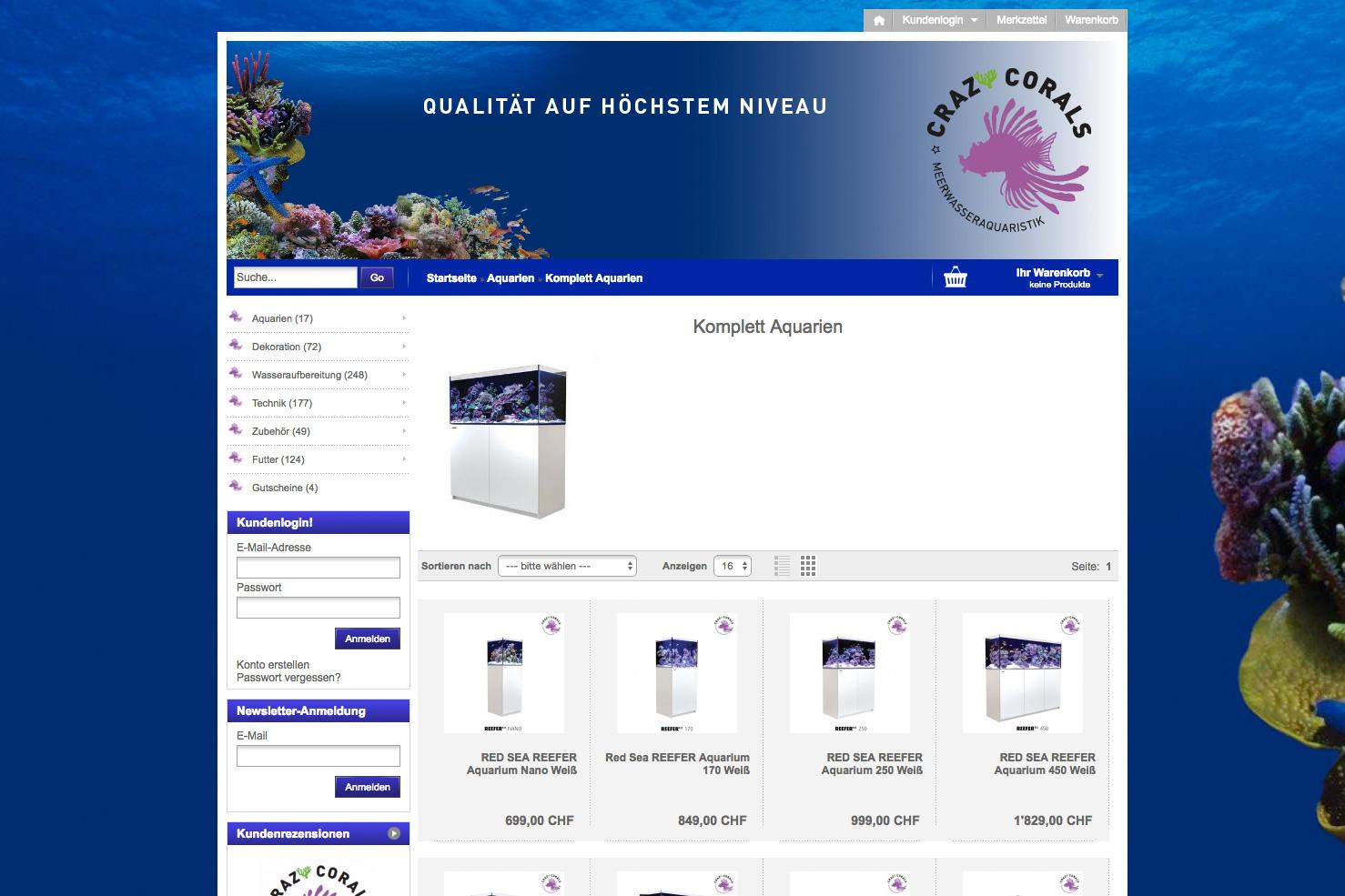 Bild 2 vom Crazy Corals Online-Shop