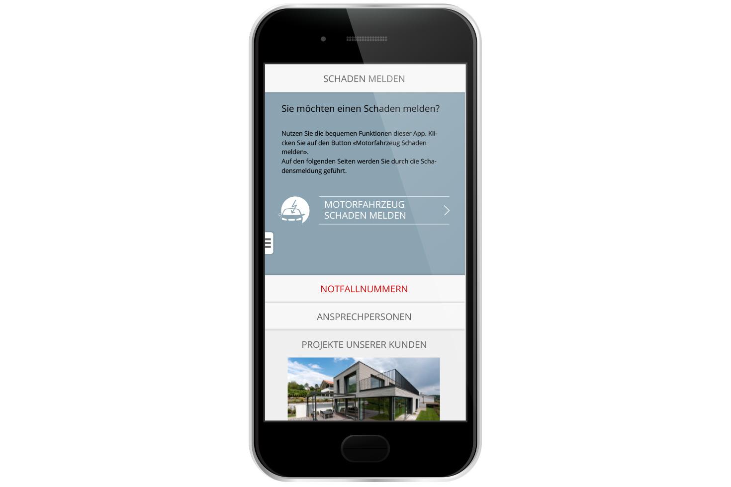 Bild 2 vom KMU Versicherungsberatung Mobile App
