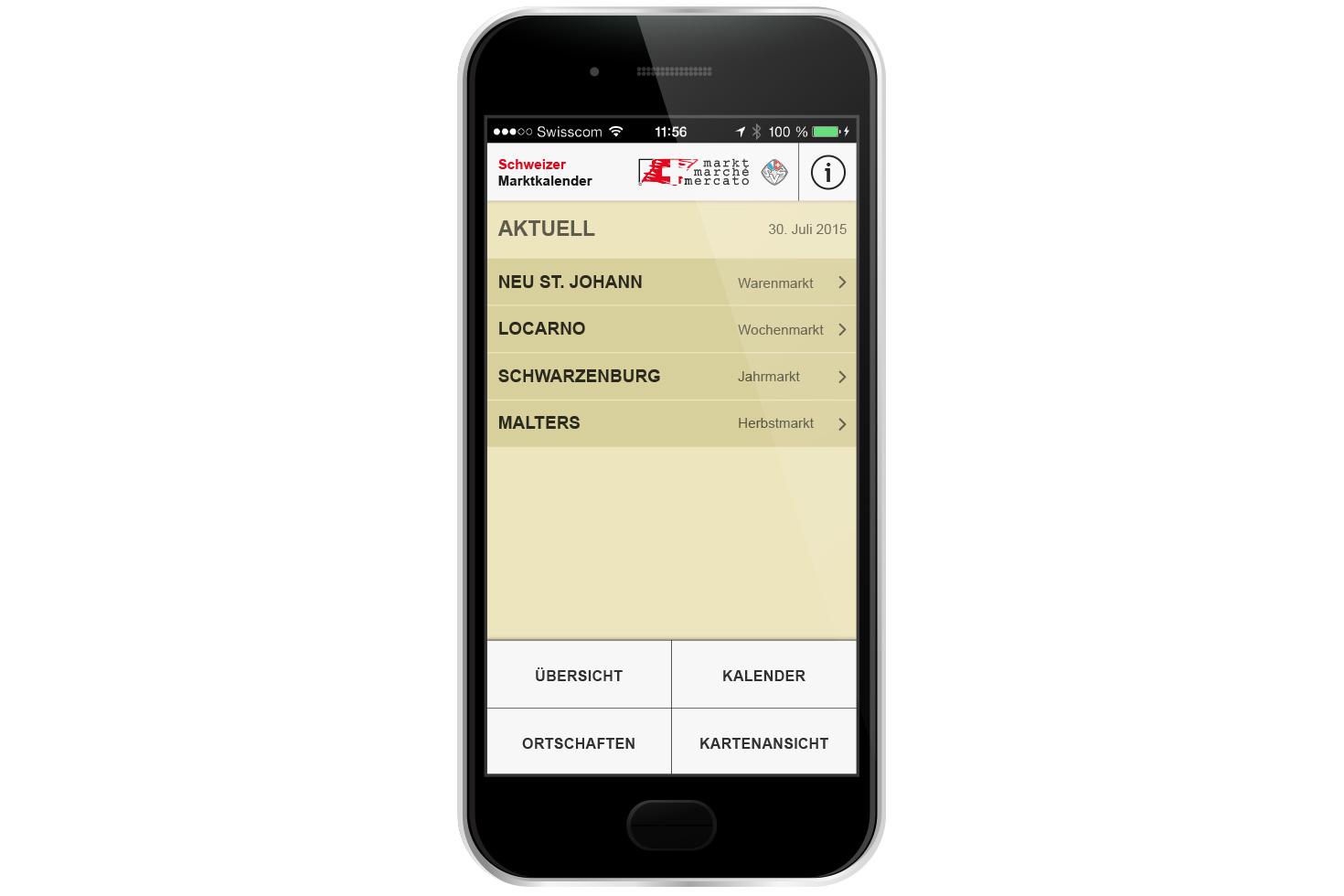 Bild 2 vom Marktkalender Mobile App