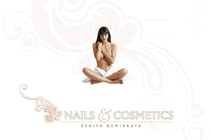 Bild 1 vom Nails & Cosmetics Webseite