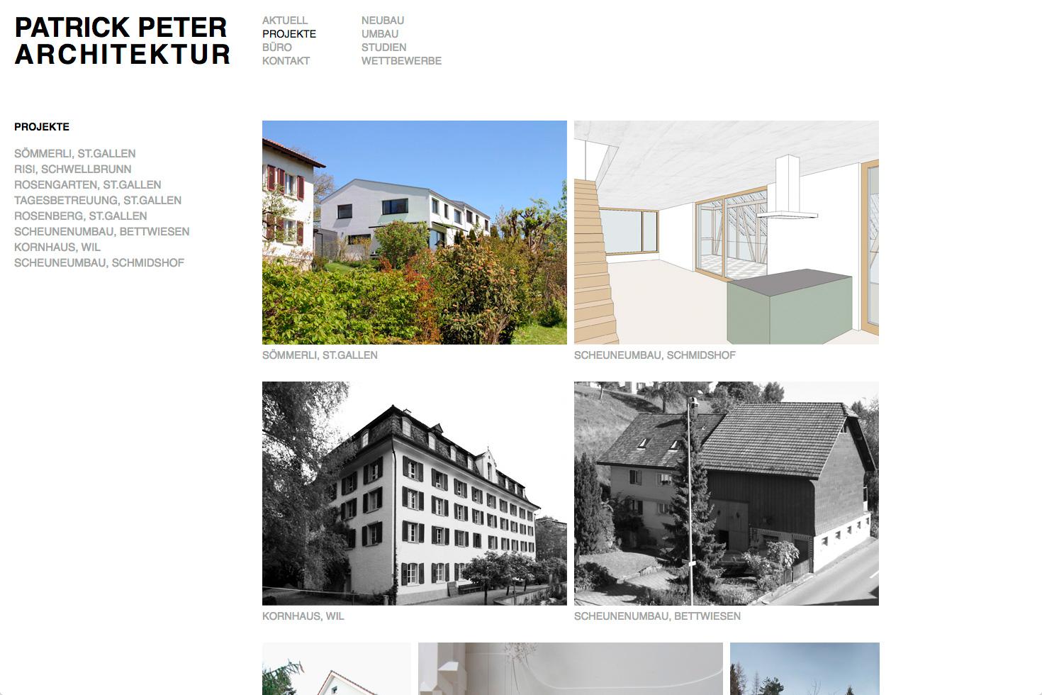 Bild 2 vom Patrickpeter-Architektur Webseite