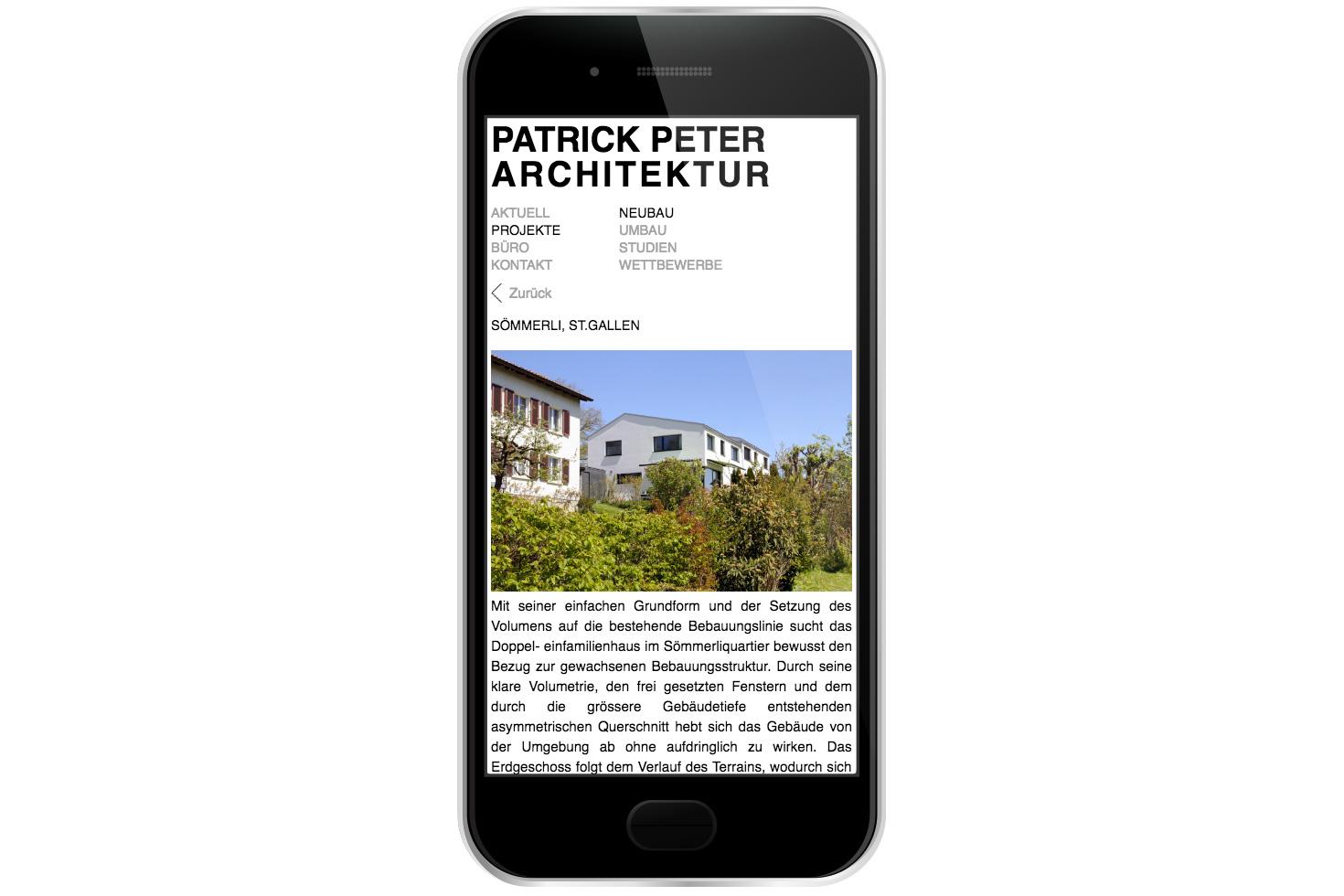 Bild 4 vom Patrickpeter-Architektur Webseite