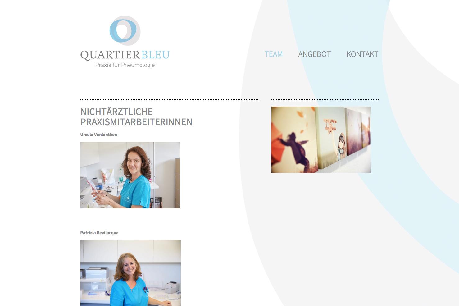Bild 3 vom Quartier Bleu Webseite