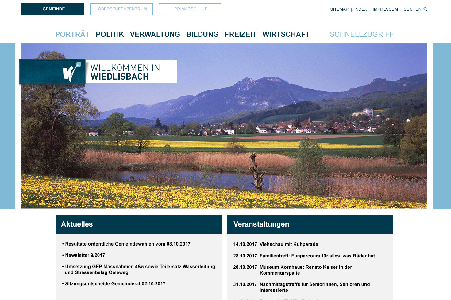 Bild 1 vom Screendesign für Webseiten