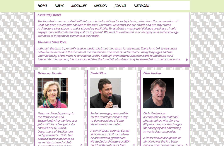 Bild 4 vom Sotto Voce Webseite