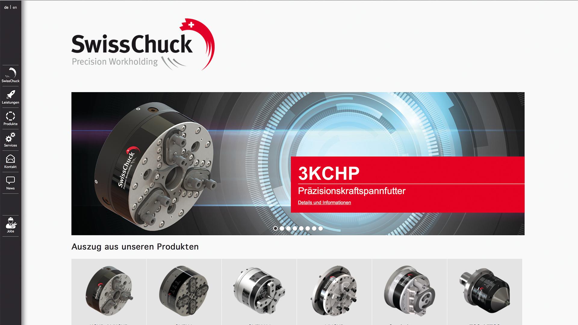 Bild 1 vom SwissChuck AG, Frontseite