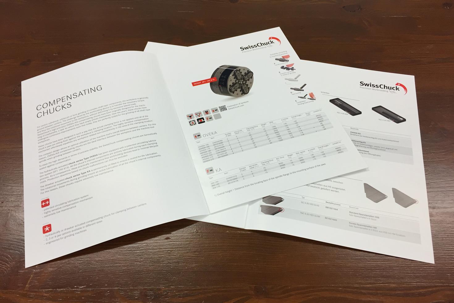 Bild 2 vom SwissChuck Produktbroschüren