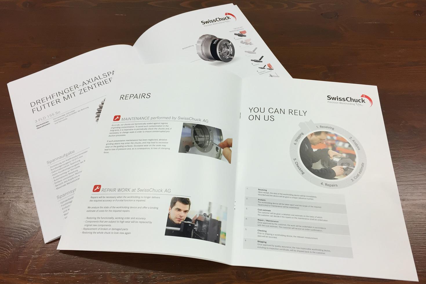Bild 3 vom SwissChuck Produktbroschüren