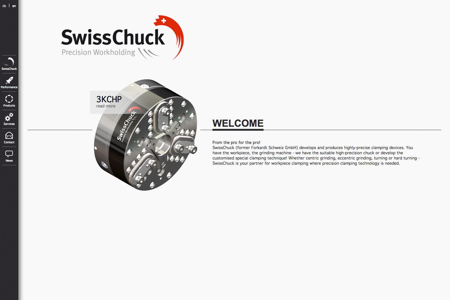 Bild 1 vom SwissChuck AG Webseite