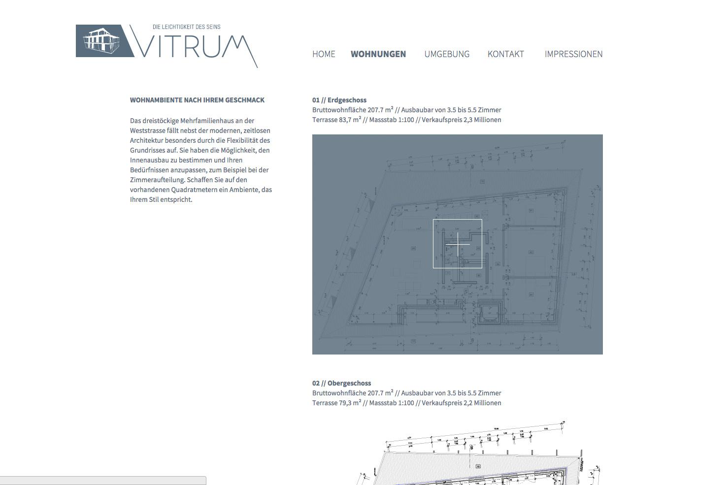 Bild 2 vom Vitrum Webseite