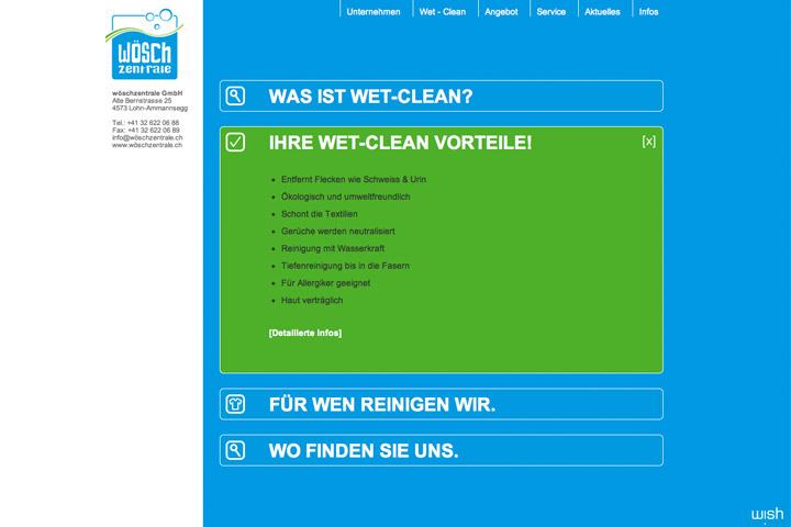 Bild 4 vom Wöschzentrale Webseite
