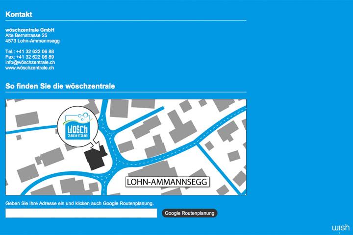 Bild 5 vom Wöschzentrale Webseite